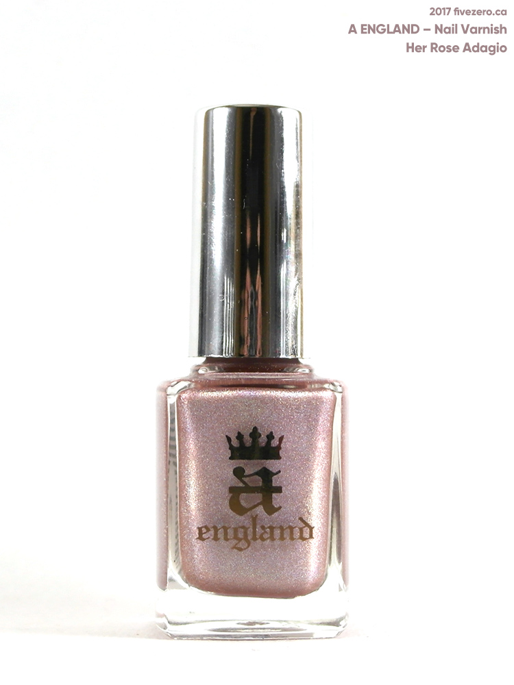 A England Nail Varnish in Her Rose Adagio