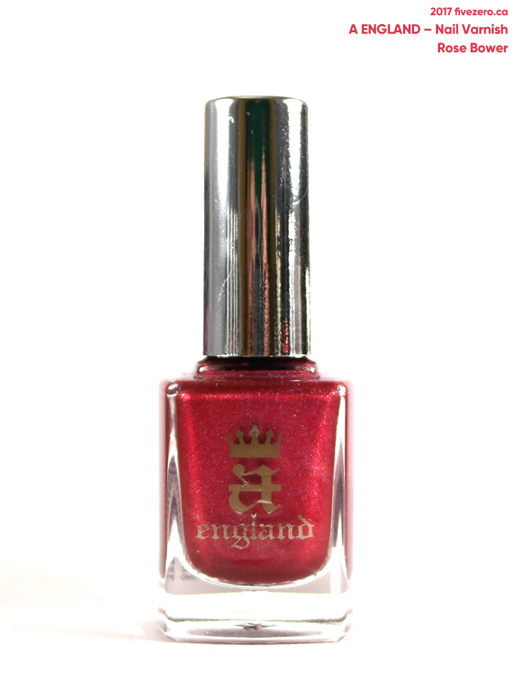 A England Nail Varnish in Rose Bower