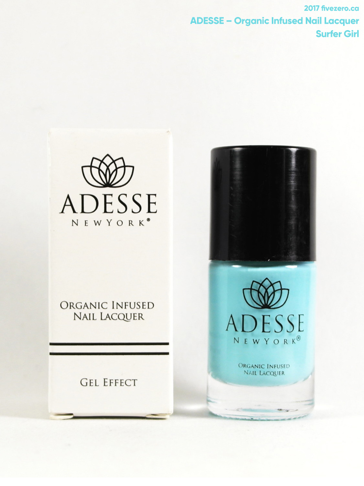 Adesse New York Organic Infused Nail Lacquer in Surfer Girl