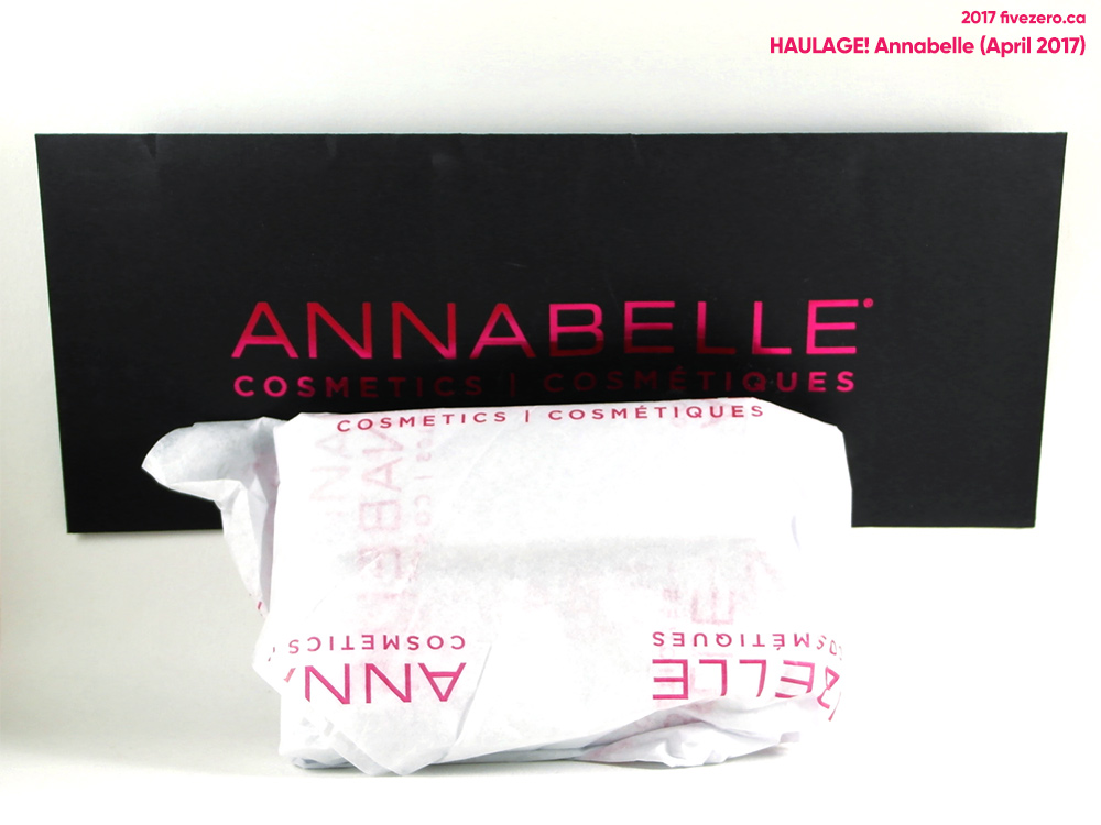 Annabelle Haulage (April 2017) packaging