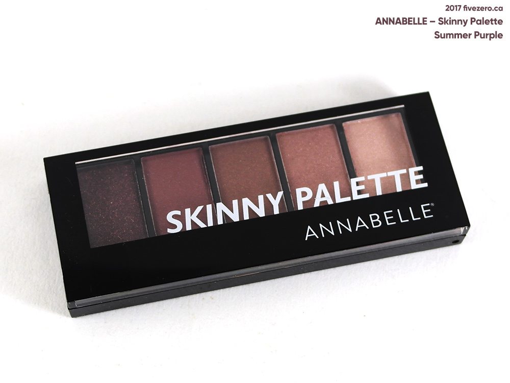 Annabelle Skinny Palette in Summer Purple