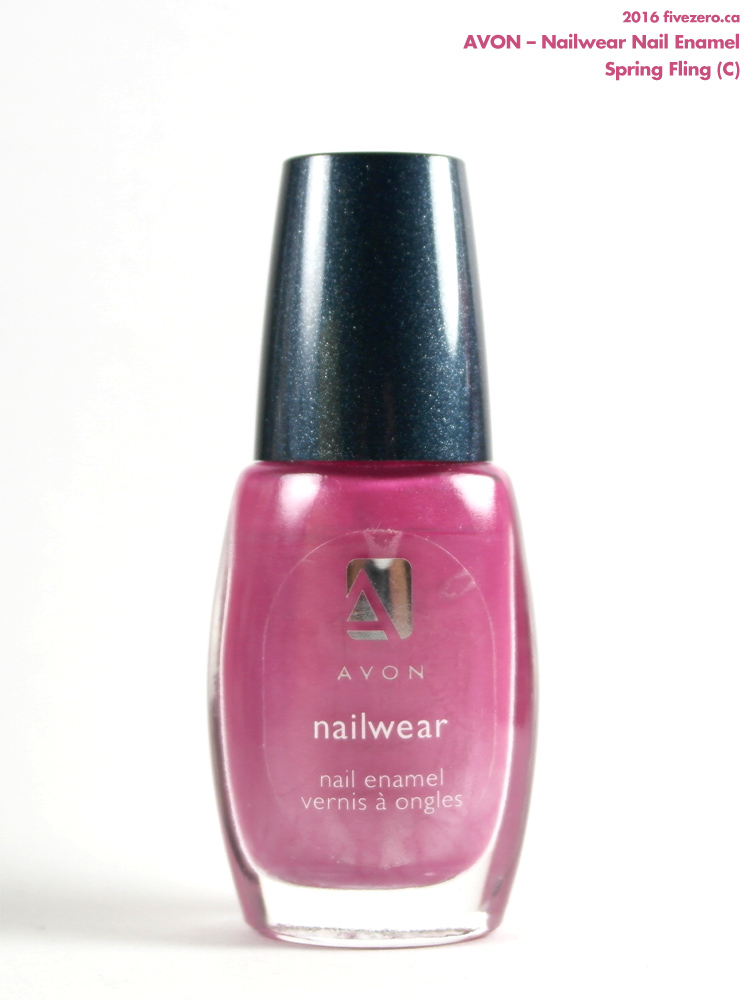 Avon Nailwear Nail Enamel in Spring Fling, bottle