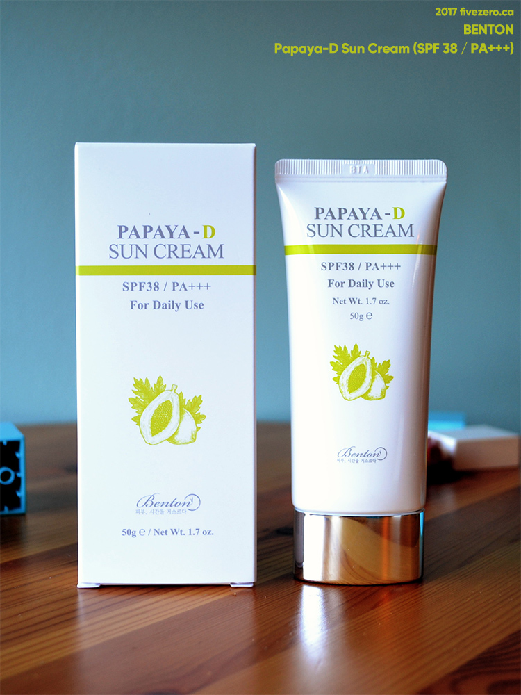 Benton — Papaya-D Sun Cream (SPF38 / PA+++)