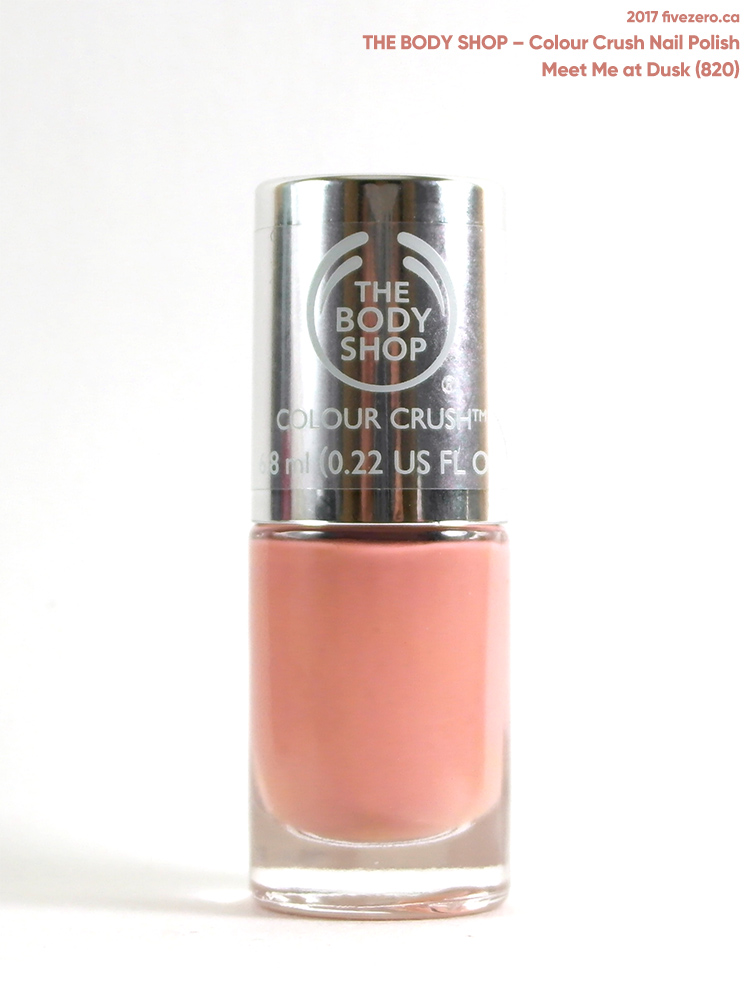 The Body Shop Colour Crush Nail Polish in Meet Me at Dusk