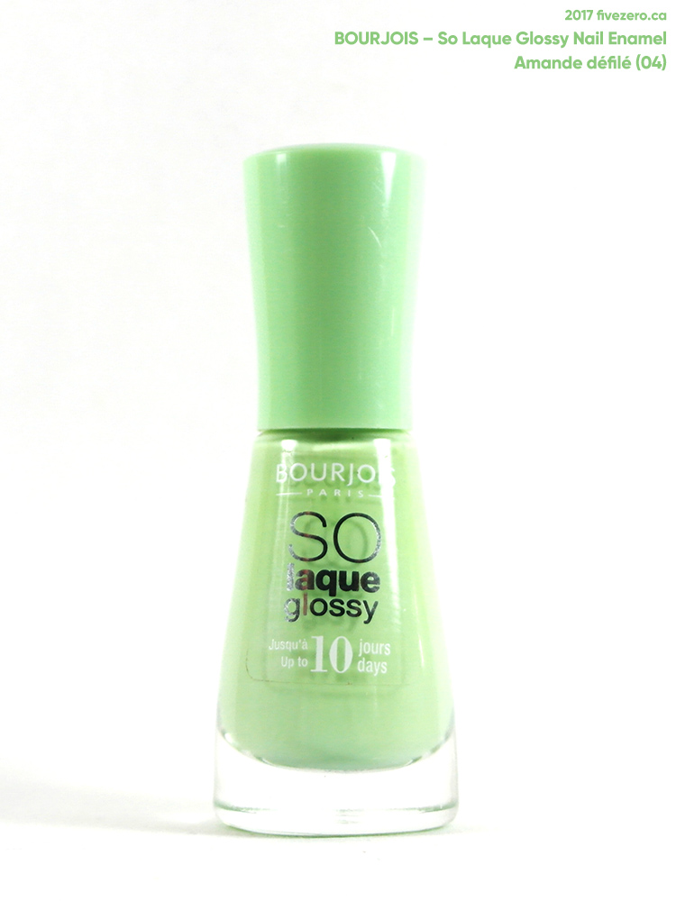 Bourjois So Laque Glossy Nail Enamel in Amande Défilé (04)
