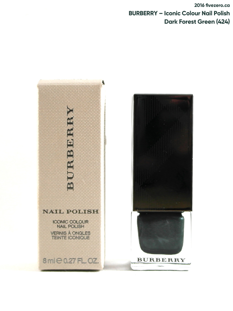 Burberry Iconic Colour Nail Polish in Dark Forest Green