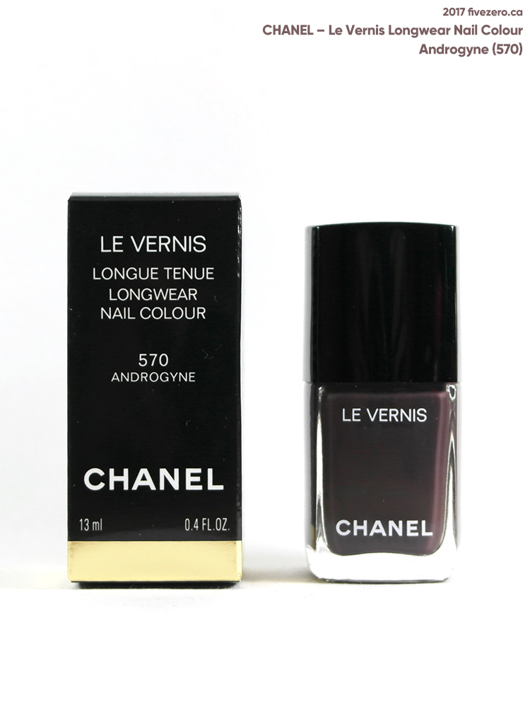 Chanel Le Vernis Longwear Nail Colour in Androgyne
