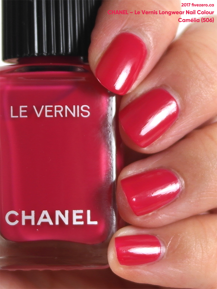 Chanel Le Vernis Longwear Nail Colour in Camélia (566), swatch