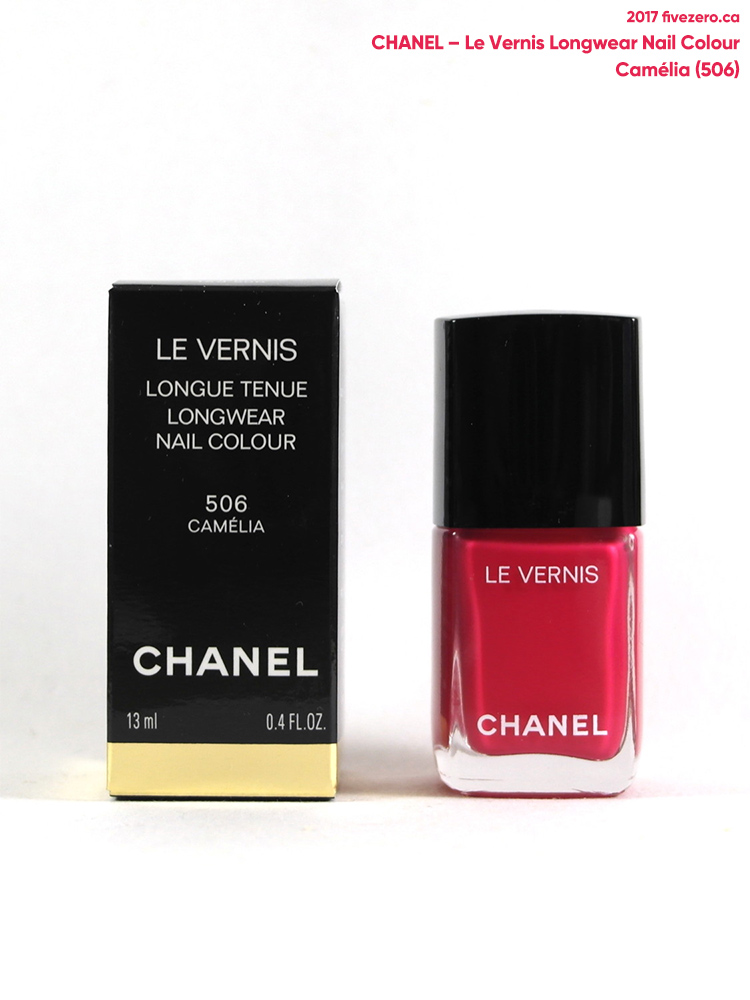 Chanel Le Vernis Longwear Nail Colour in Camélia (566)