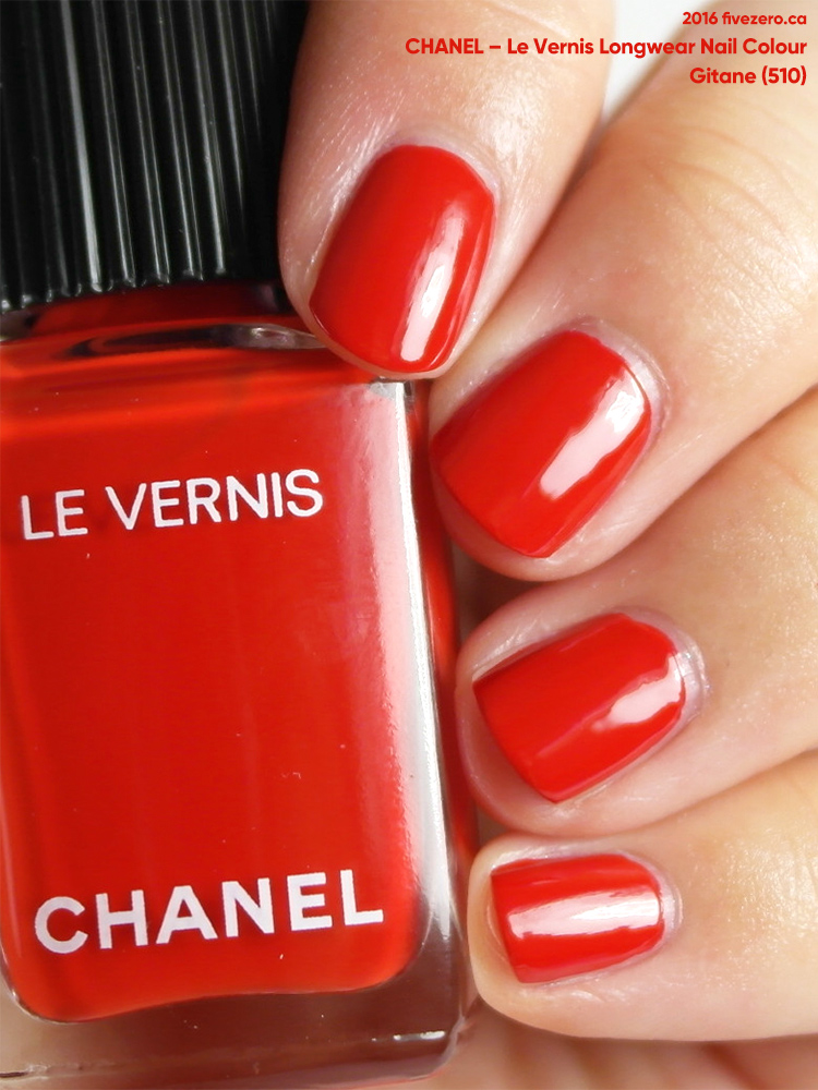 Chanel Le Vernis Longwear Nail Colour in Gitane, swatch
