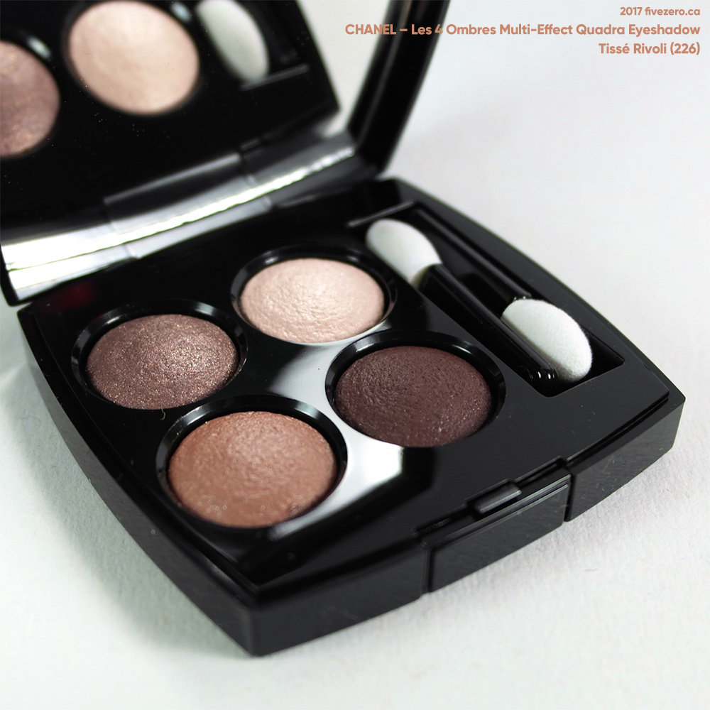 Chanel Les 4 Ombres Multi-Effect Quadra Eyeshadow in Tissé Rivoli