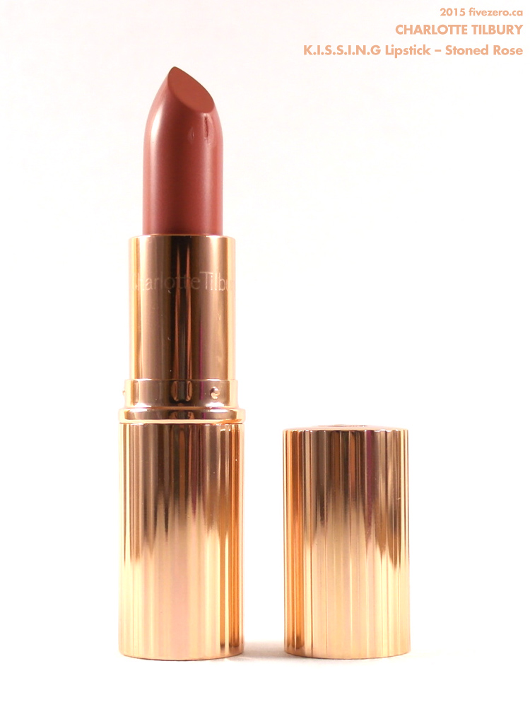 Charlotte Tilbury KISSING Lipstick in Stoned Rose