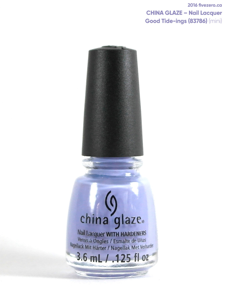 China Glaze Nail Lacquer in Good Tide-ings