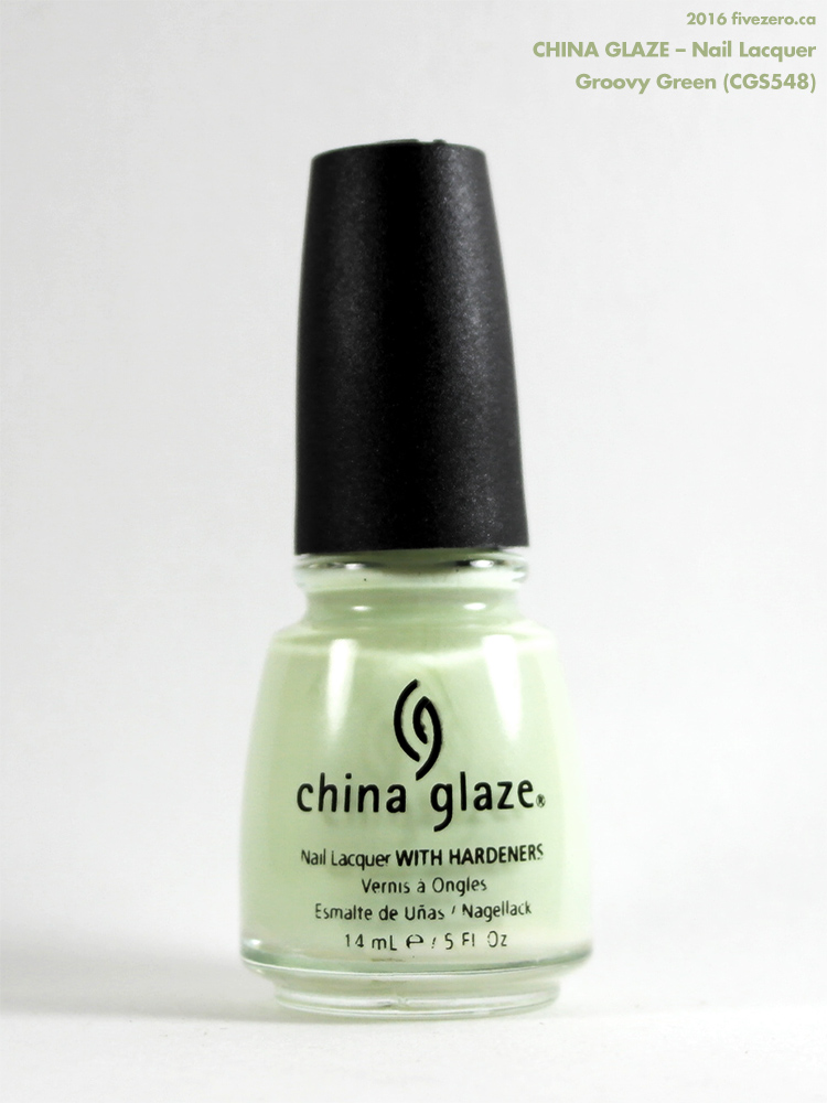 China Glaze Nail Lacquer in Groovy Green