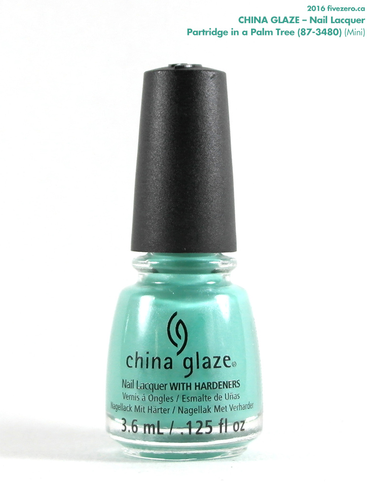 China Glaze Nail Lacquer in Partridge in a Palm Tree (Mini)