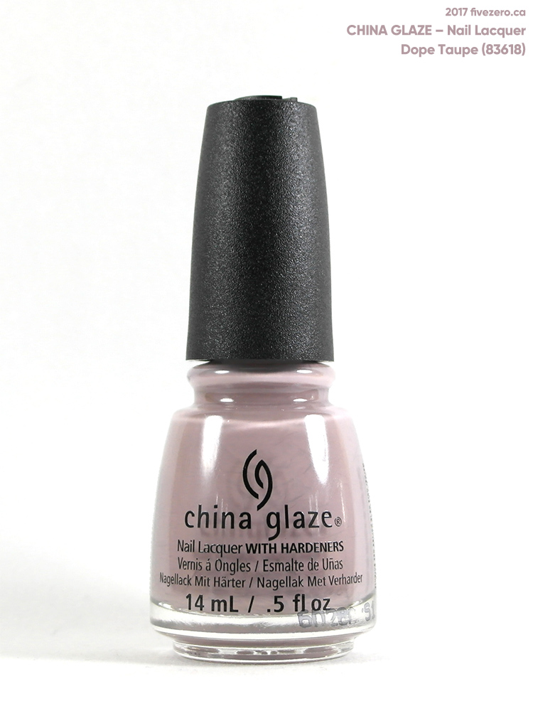 China Glaze Nail Lacquer in Dope Taupe