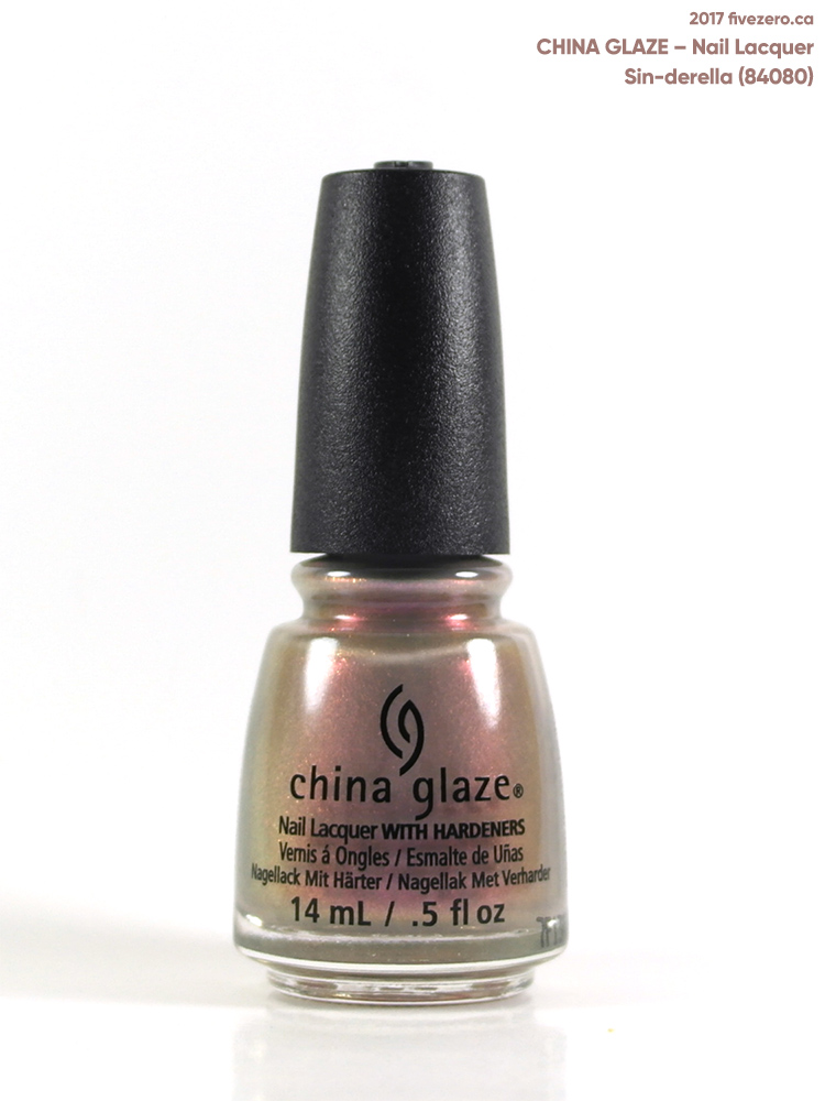 China Glaze Nail Lacquer in Sin-derella