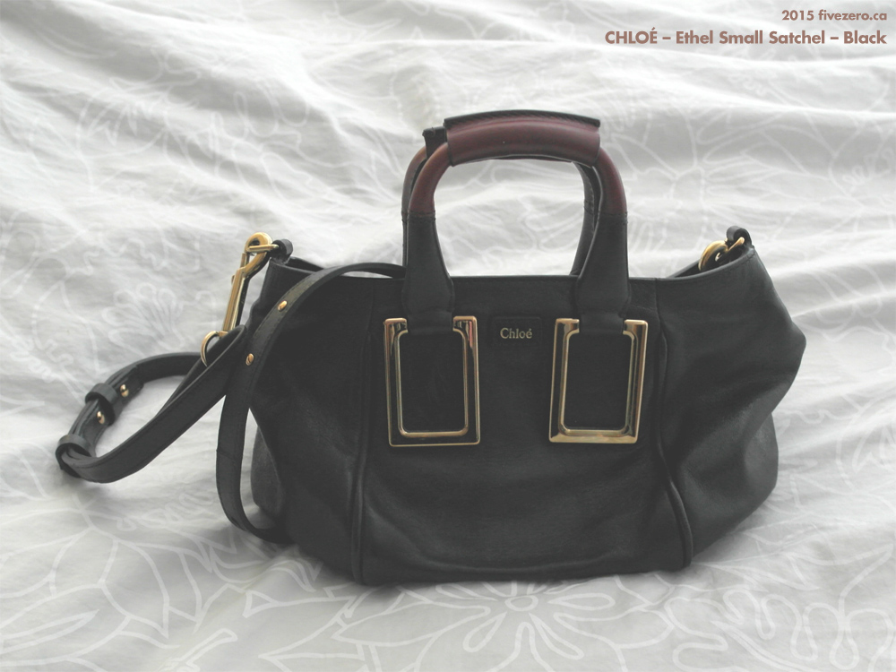 Chloé Ethel Small Satchel in Black