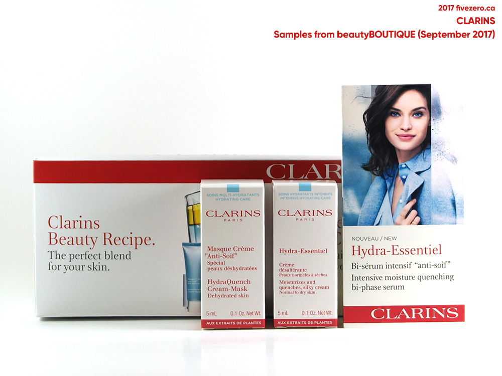 Clarins 3-pc skincare sampler
