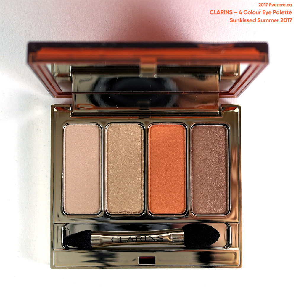 Clarins 4 Colour Eye Palette, Sunkissed Summer 2017 (LE)