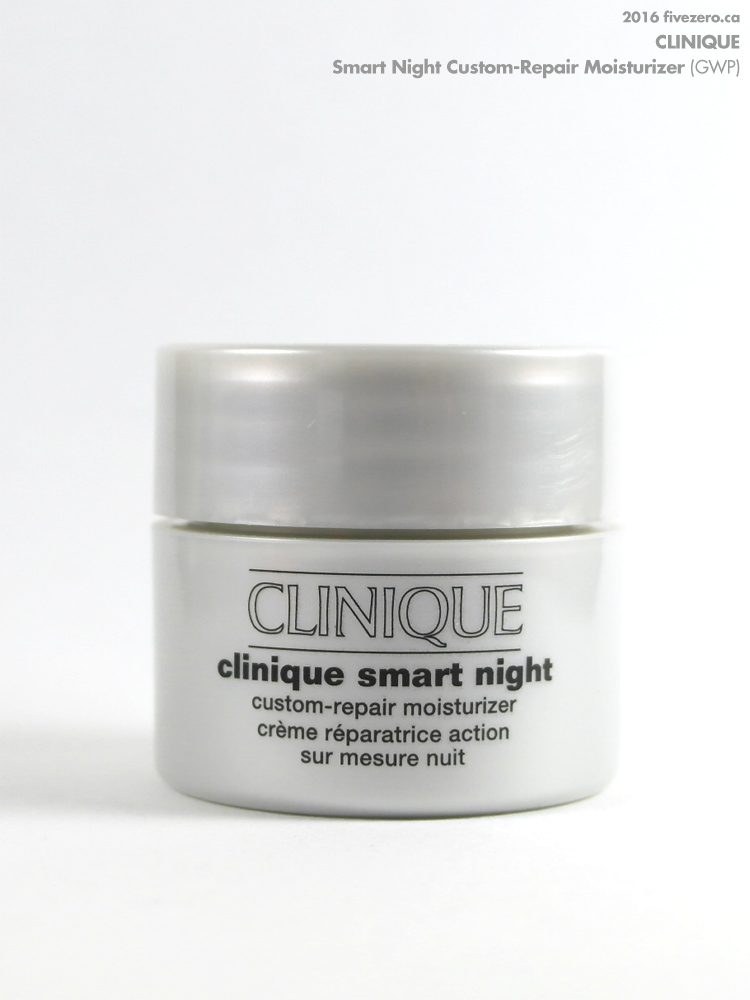 Clinique Smart Night Custom-Repair Moisturizer Dry Combination, GWP