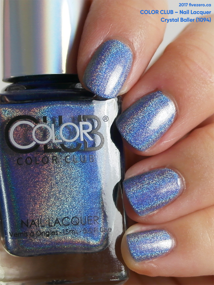 Color Club Nail Lacquer in Crystal Baller (Halo Hues), swatch
