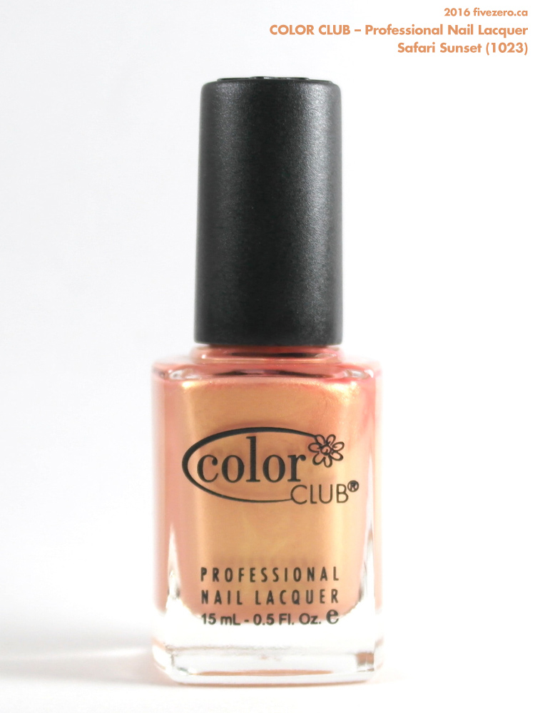 Color Club Professional Nail Lacquer in Safari Sunset