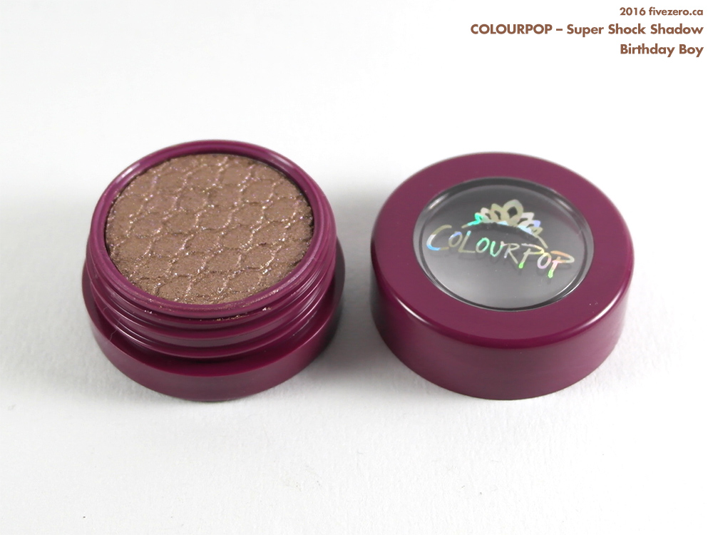 ColourPop Super Shock Shadow in Birthday Boy