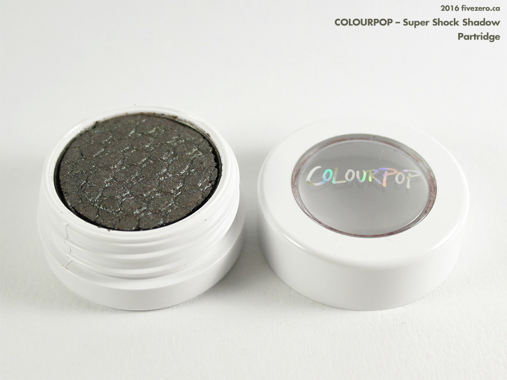 ColourPop Super Shock Shadow in Partridge