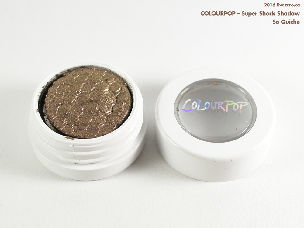 ColourPop Super Shock Shadow in So Quiche