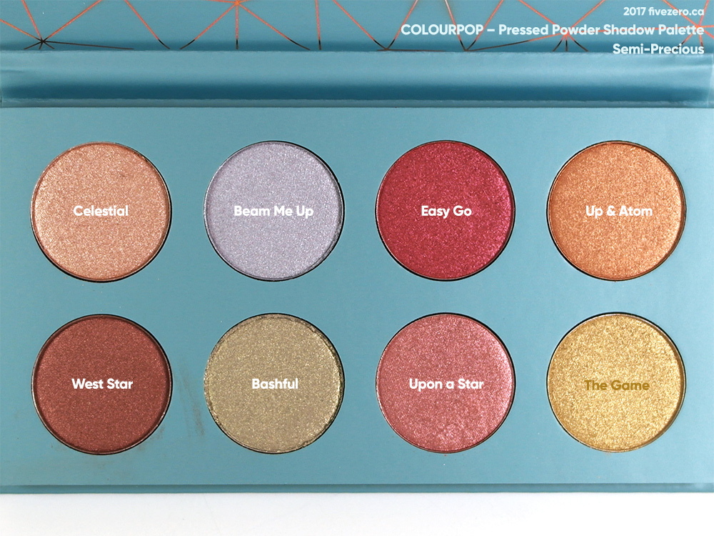 ColourPop Pressed Powder Shadow Palette in Semi-Precious