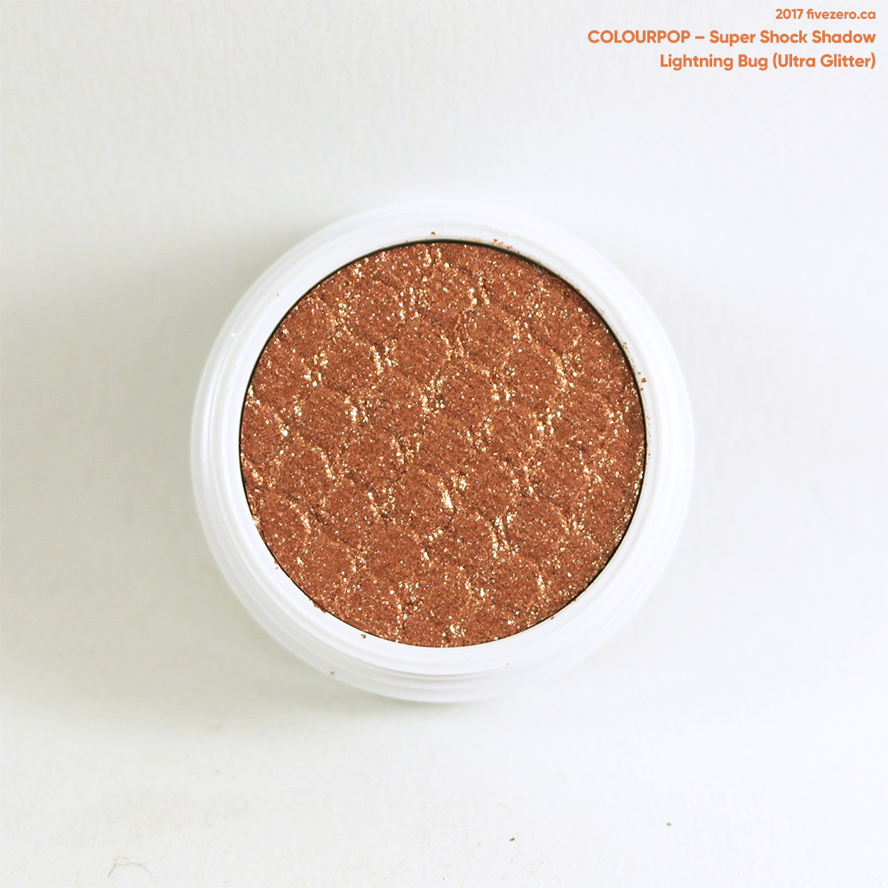 ColourPop Super Shock Shadow in Lightning Bug