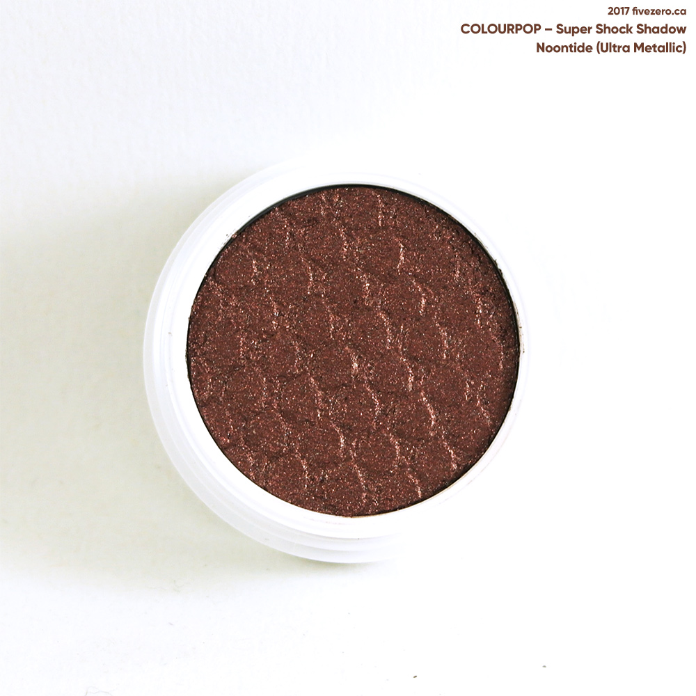 ColourPop Super Shock Shadow in Noontide