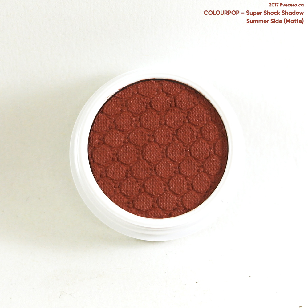 ColourPop Super Shock Shadow in Summer Side