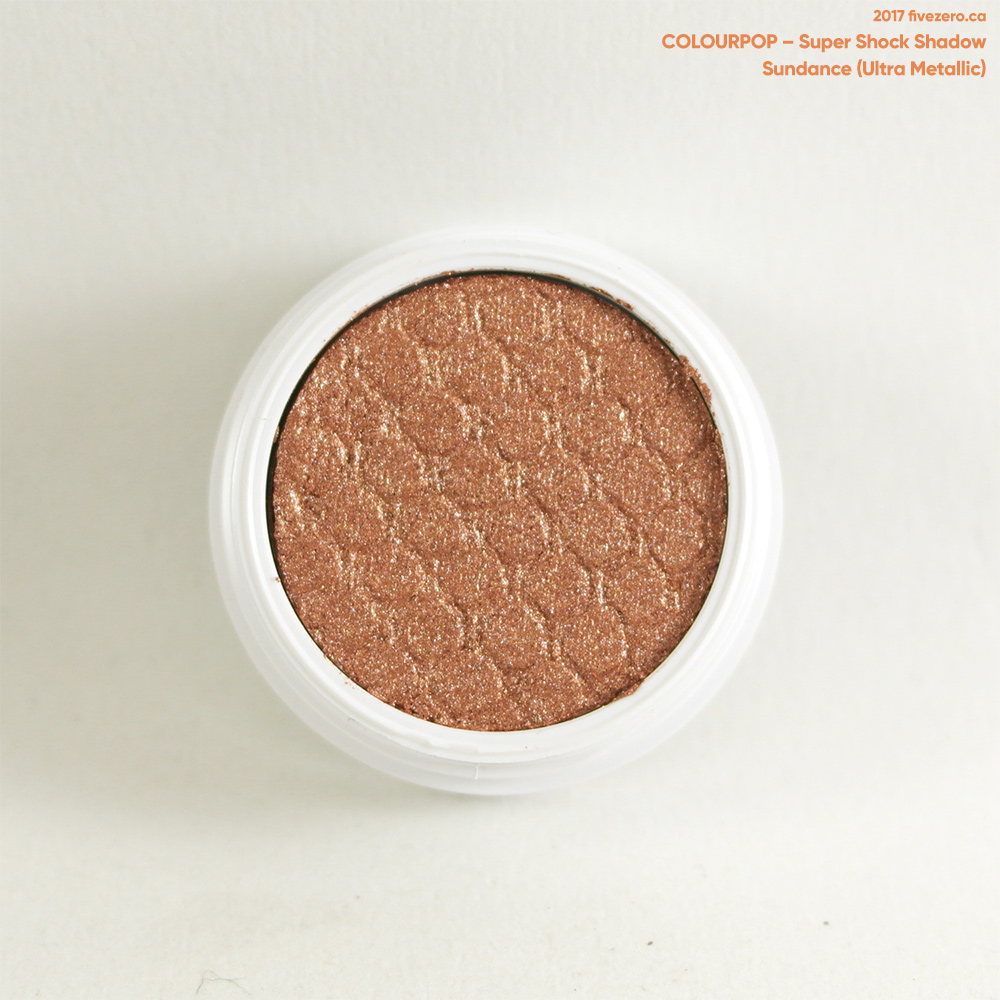 ColourPop Super Shock Shadow in Sundance