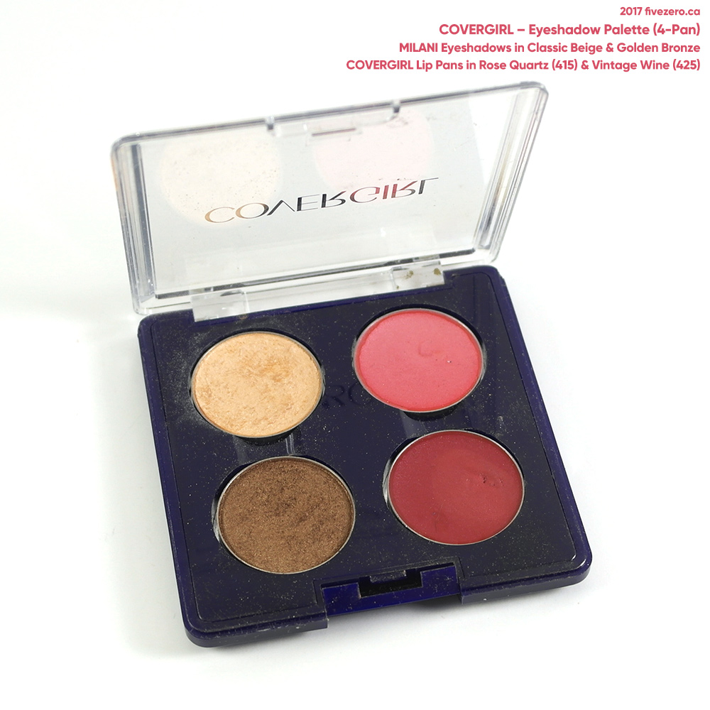 CoverGirl 4-pan eyeshadow palette
