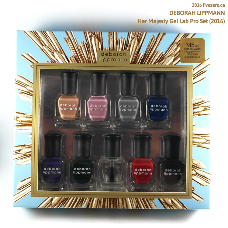Deborah Lippmann Her Majesty Gel Lab Pro Set