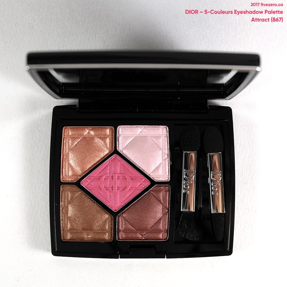 Dior 5 Couleurs Eyeshadow Palette in Attract