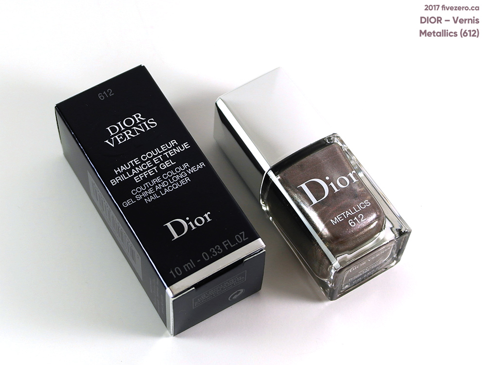 Dior Vernis Couture Colour in Metallics (612)
