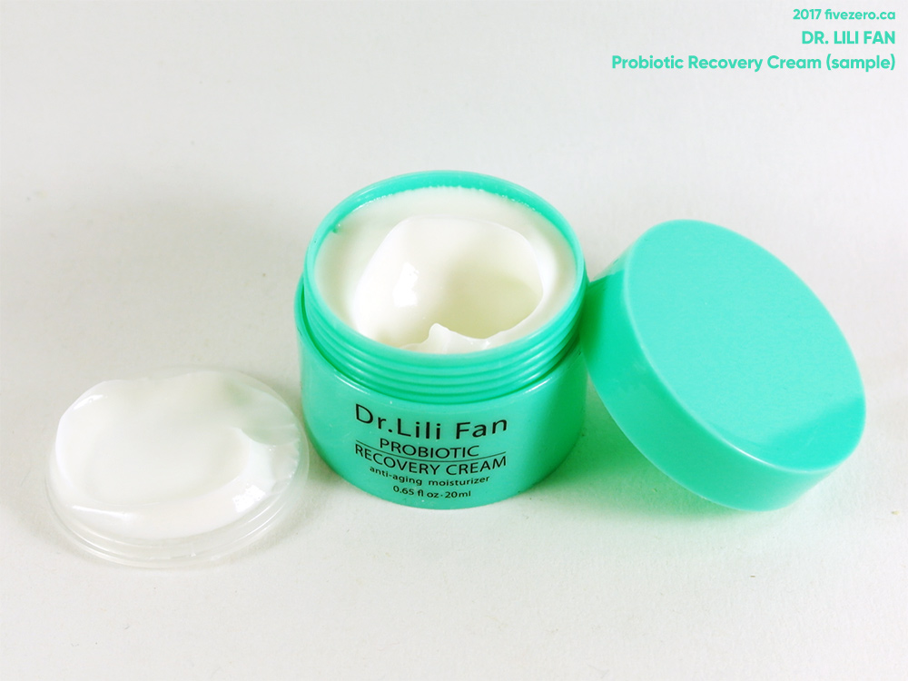Dr. Lili Fan Probiotic Recovery Cream (sample)
