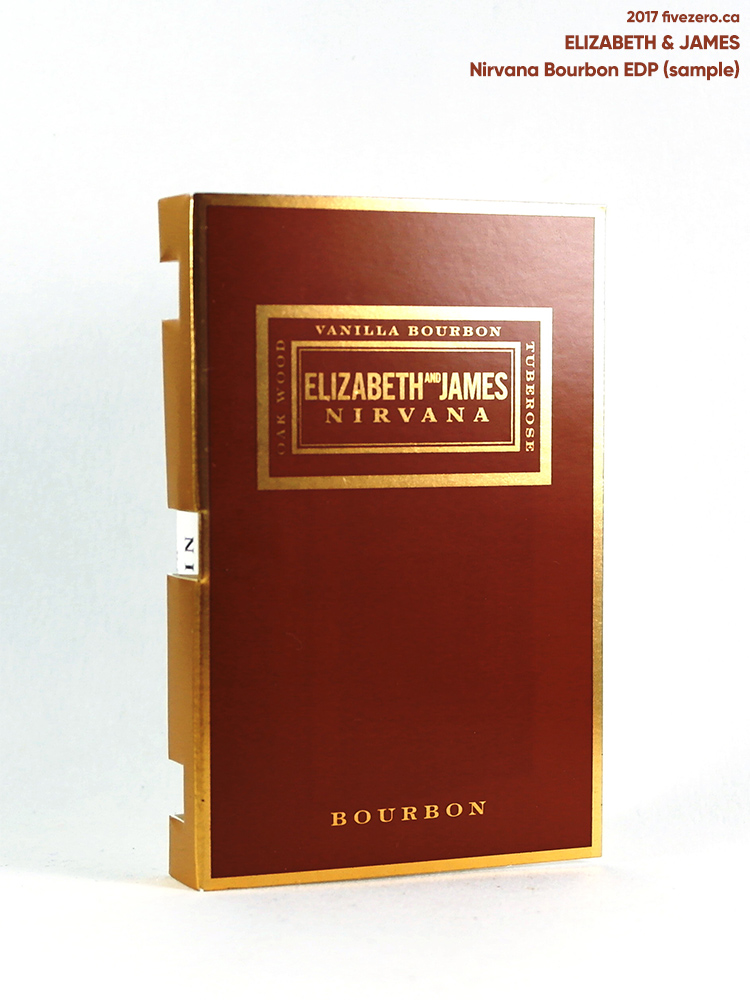 Elizabeth and James Nirvana Bourbon EDP (sample)
