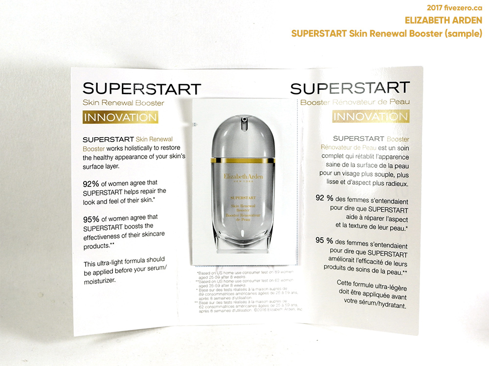 Elizabeth Arden SUPERSTART Skin Renewal Booster (free sample)