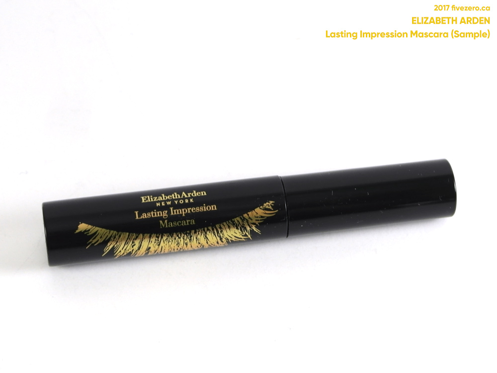 Elizabeth Arden Lasting Impression Mascara in Lasting Black (sample)