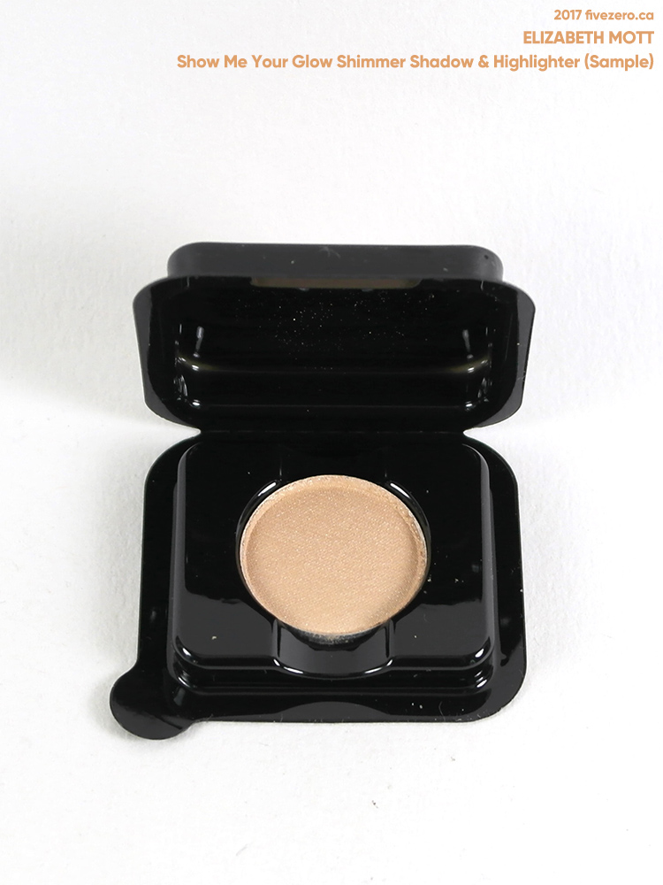 Elizabeth Mott Shimmer Shadow in Show Me Your Glow (0.7 g sample)