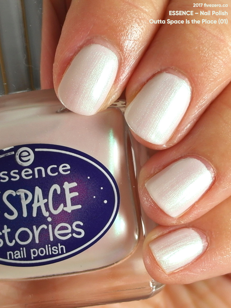 Essence Out of Space Stories Nail Polish in Outta Space Is the Place, swatch