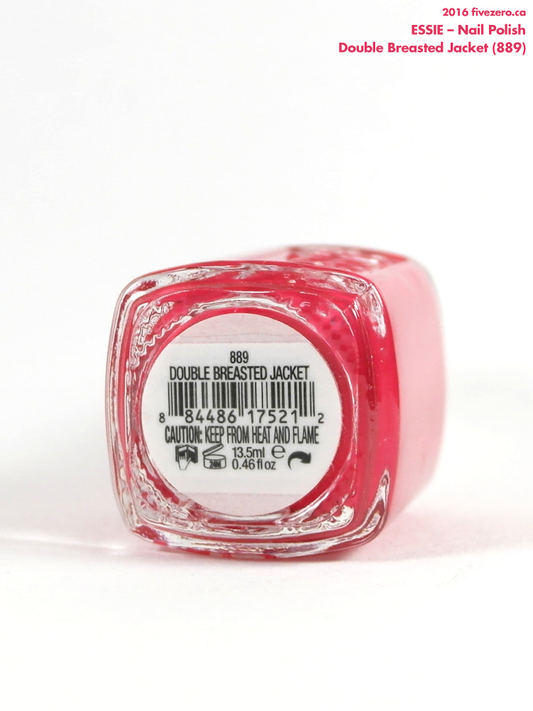 Essie Nail Polish in Double Breasted Jacket, label