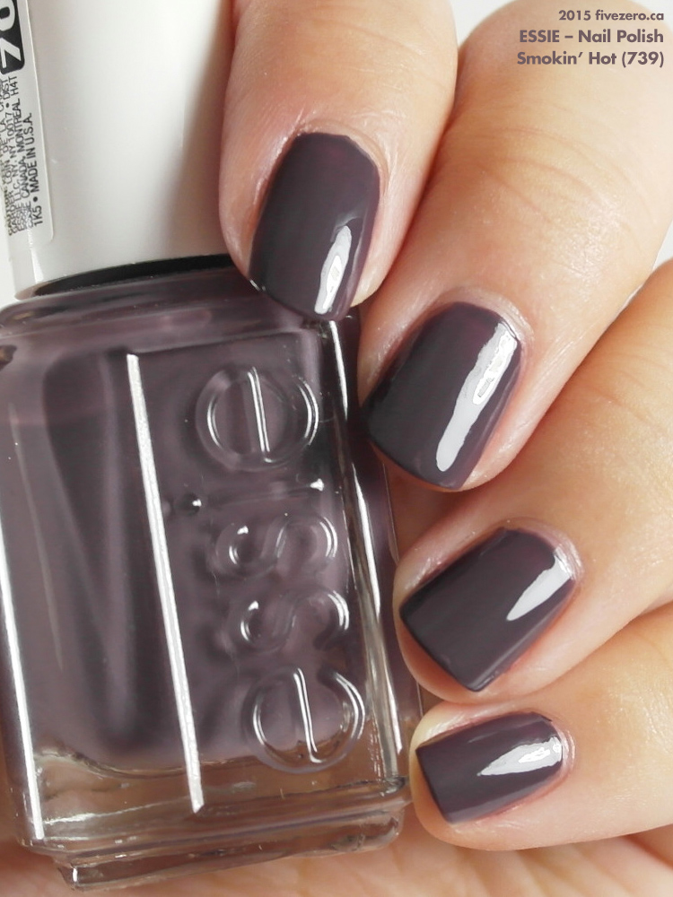 Essie Smokin Hot Nail Polish Swatch Review Fivezero