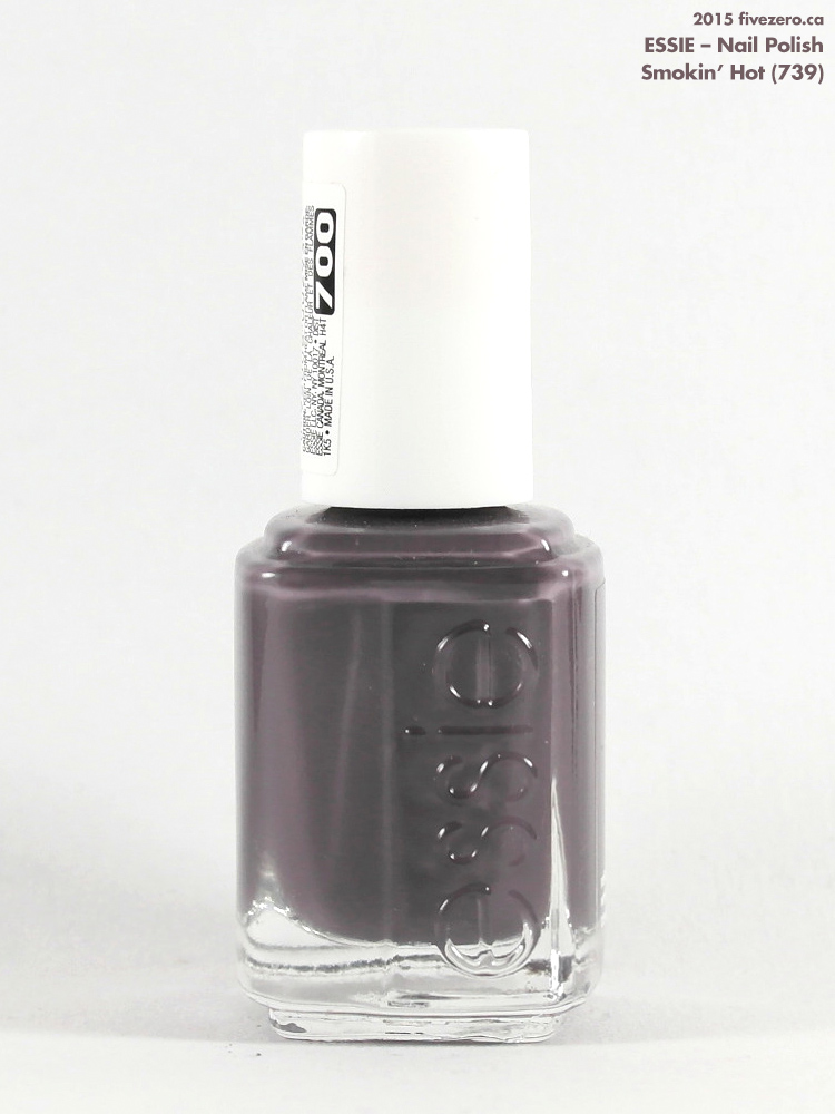 Essie — Smokin\' Hot (Nail Polish) Swatch & Review – fivezero
