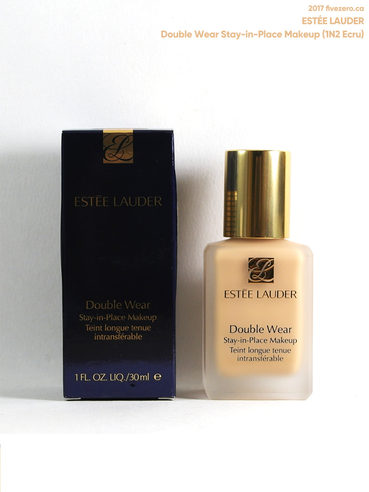 Estée Lauder Double Wear Stay-in-Place Makeup in 1N2 Ecru