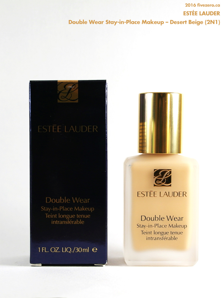 Estée Lauder Double Wear Stay-in-Place Makeup in Desert Beige (2N1)